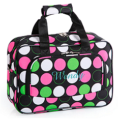 Mini Travel Duffle Bag - Dots