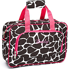 Mini Travel Duffle Bag - Giraffe