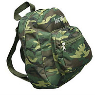 Kids Camo Backpack