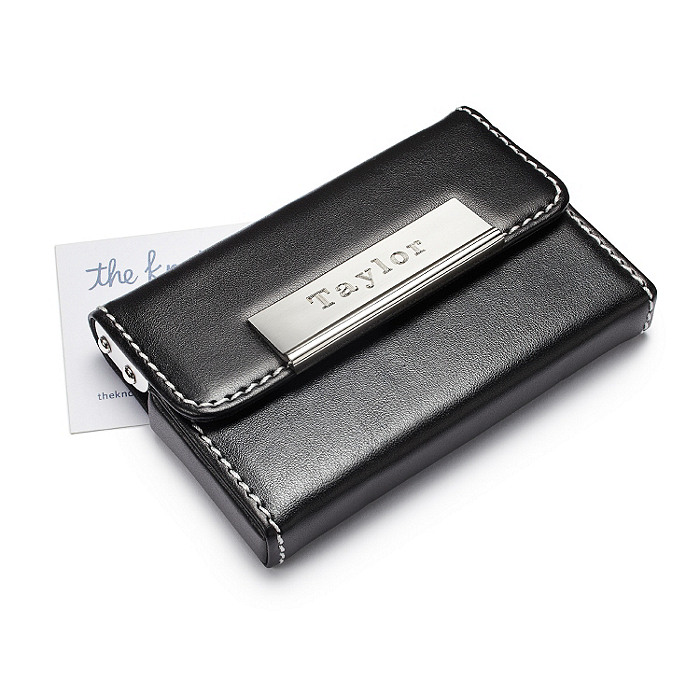 Sleek Business Card Case