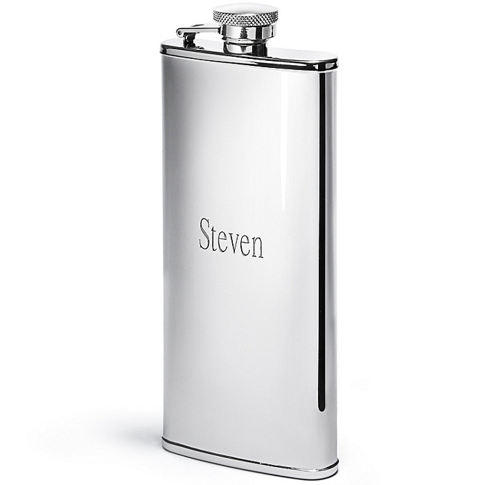 Tall Shiny Flask