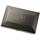 Gunmetal Business Card Case