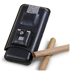 Travel Cigar Case Set