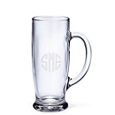 Glass Beer Tankard