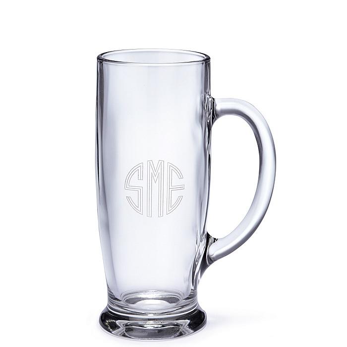 Glass Beer Tankard