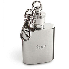 Clip On Mini Flask