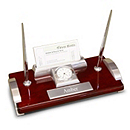 Executive Desk Set with Clock