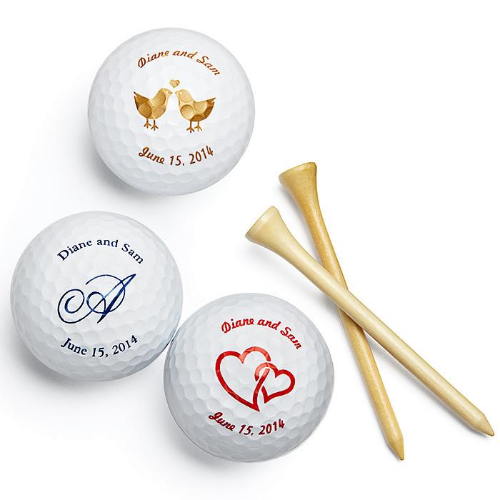 golf wedding favor: