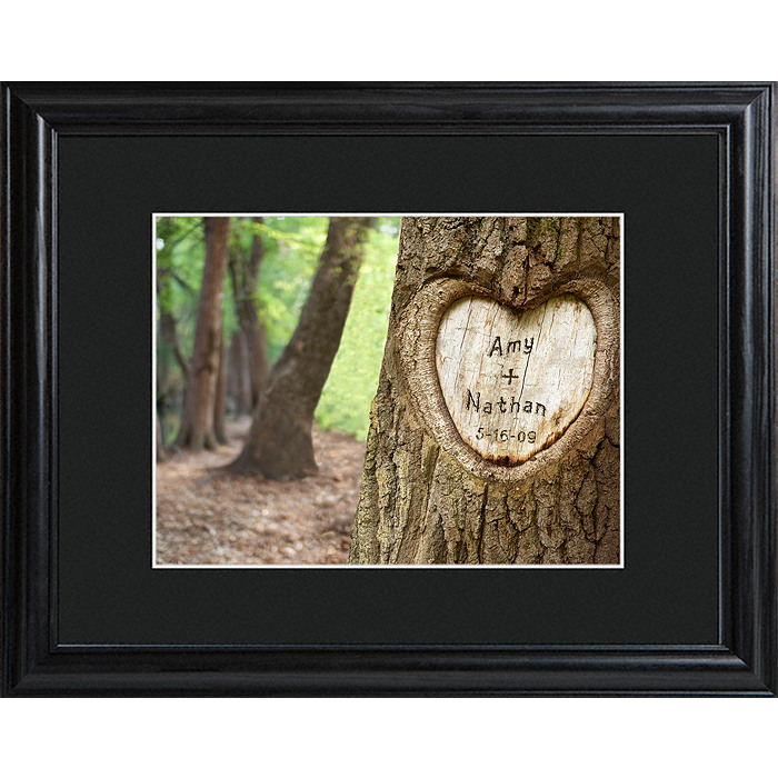 Personalized Tree of Love Framed Print