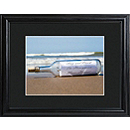 Personalized Message in a Bottle Framed Print