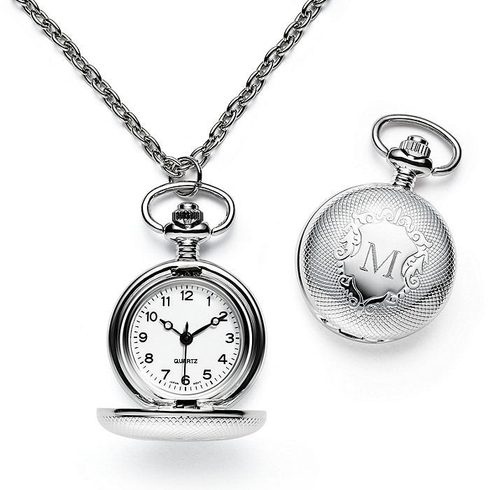 Watch Locket Necklace