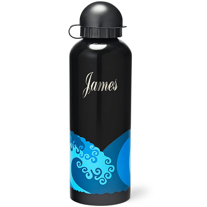 Stainless Steel Water Bottle - Wave