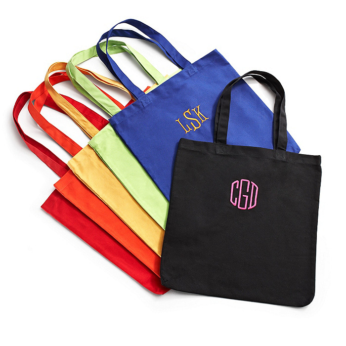 Personalized Cotton Market Tote