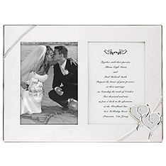 Lenox True Love Double Invitation Frame