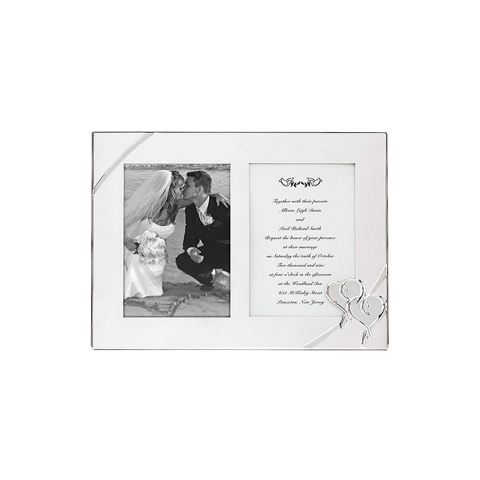 Lenox True Love Double Invitation Frame