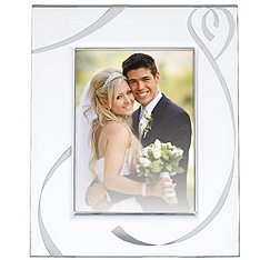Lenox True Love 5x7 Crystal Frame