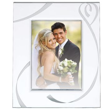 Lenox True Love 5x7 Crystal Frame