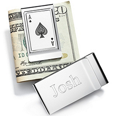 Ace of Spades Money Clip