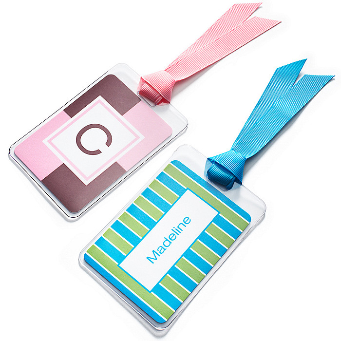Personalized Luggage Tag - Hers