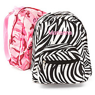 Girl's Print Backpack