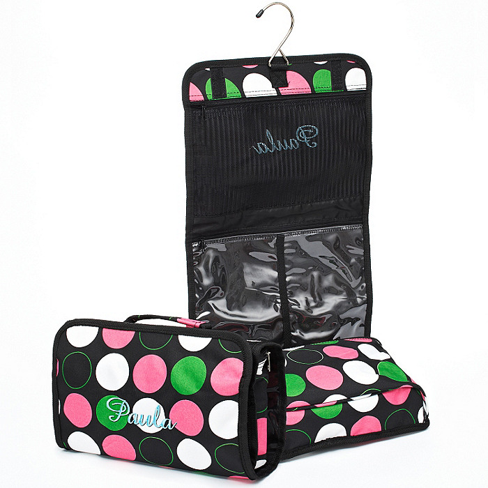 Hanging Cosmetic Bag - Dots