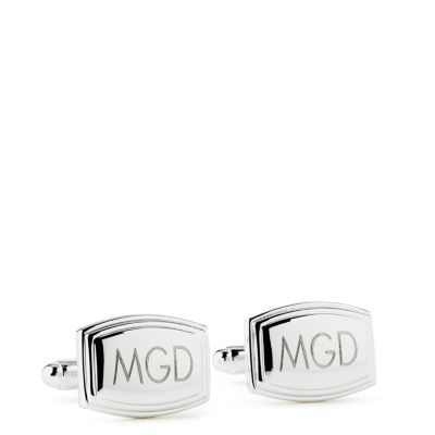 Beveled Cuff Links