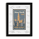 Personalized Guest Signature Frame - New York