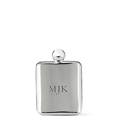 Personalized Smooth Stainless Flask