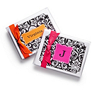Damask Pattern Note Cards