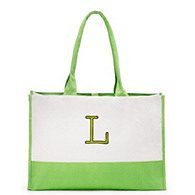 Colorblock Tote - Garden Collection