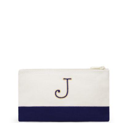 Colorblock Cosmetic Bag - Small