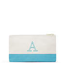 Colorblock Small Zip Pouch - Garden Collection