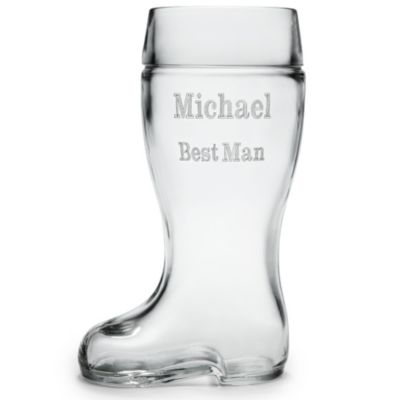 One-Liter Beer Boot Glass