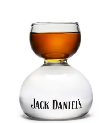 Jack Daniel's Whiskey on Water Shot Glass