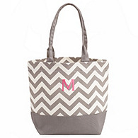 Chevron Canvas Tote
