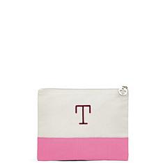 Colorblock Cosmetic Bag - Large