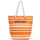 Striped Cabana Tote