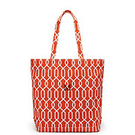 Loop Chain Canvas Tote