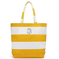 Rugby Striped Tote