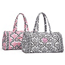 Quilted Damask Large Duffle