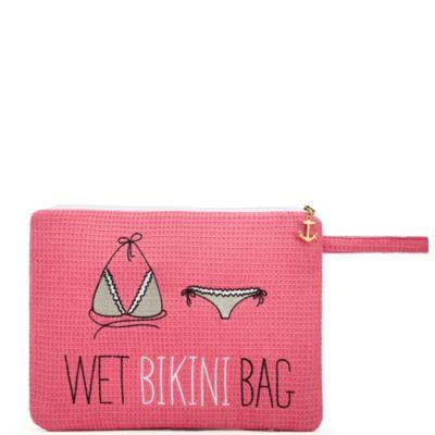 Waffle Wet Bikini Bag
