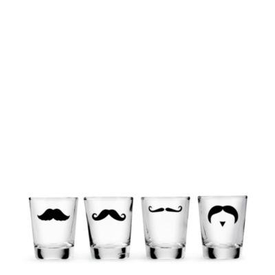 Shot Glass Set - Mustaches