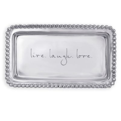 Live. Laugh. Love. Tray