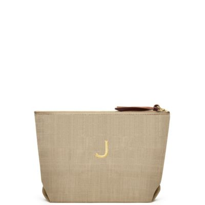 Napa Linen Cosmetic Bag
