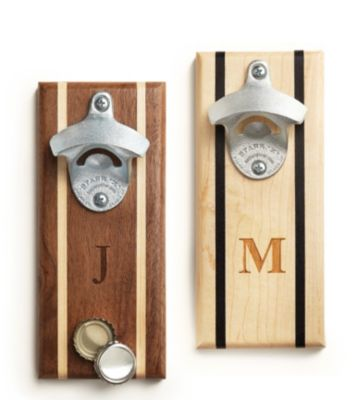 Handmade Wall Mounted Bottle Opener