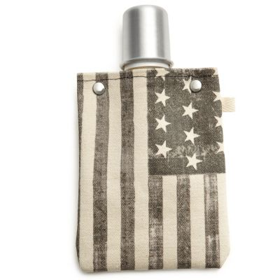 Canvas Flask - Flag