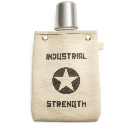 Canvas Flask - Industrial Strength