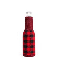 Freaker Knit Bottle Koozie - Lumberjack
