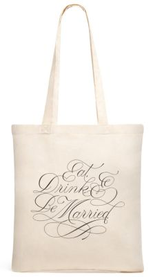 Celebration Tote - Eat, Drink, & Be Married