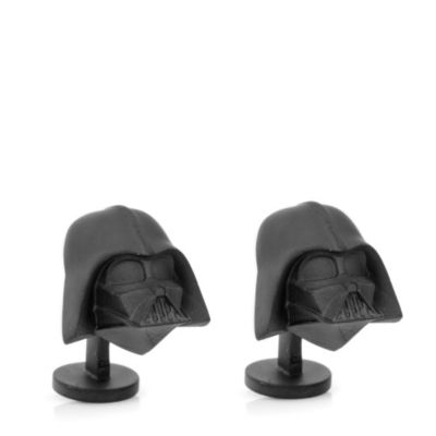3-D Darth Vader Cuff Links
